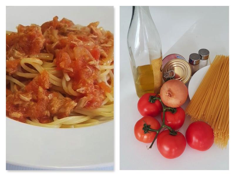 Deposito Della Ricetta Degli Spaghetti Bolognesi Al Tonno Gustando